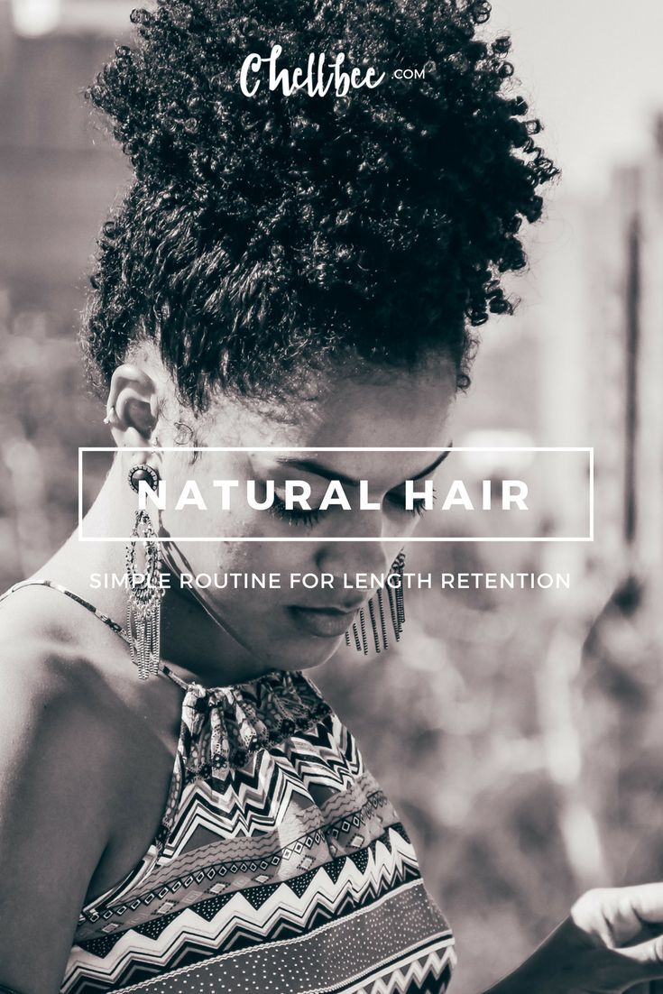 My Current Natural Hair Routine