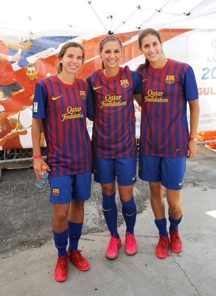 Tobin Heath, Alex Morgan, Yael Averbuch. (Sqor/Twitter)