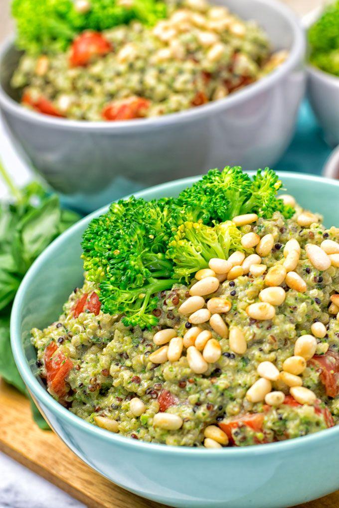 Broccoli Pesto Quinoa