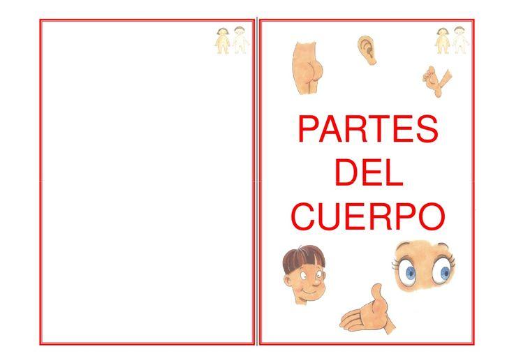 """LIBRO DE VOCABULARIO """"LAS PARTES DEL CUERPO"""" by arantxacolecamarma via slideshare"""