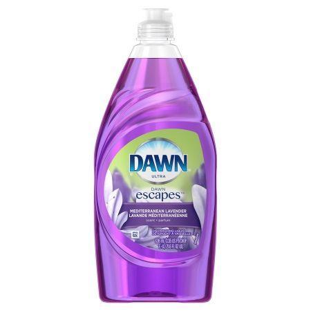 Dawn Escapes Dishwashing Liquid Mediterranean Lavender - 21.6 fl oz