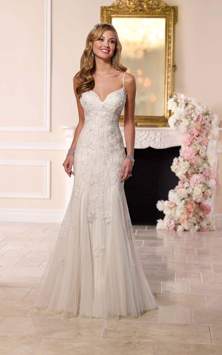 199 best Wedding Dresses images on Pinterest | Homecoming dresses ...