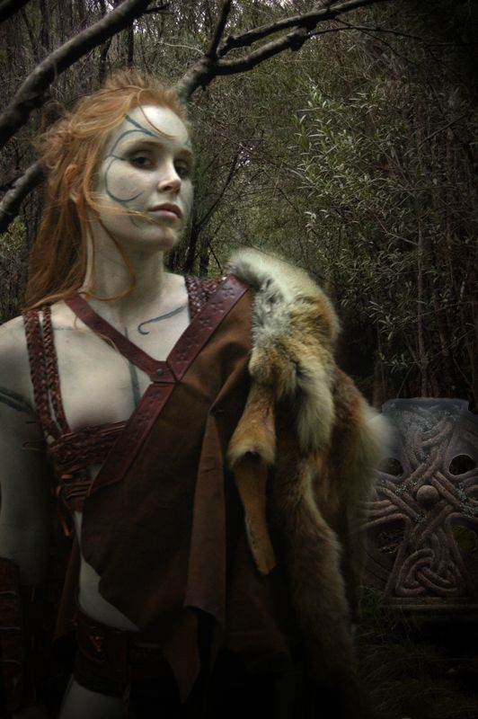 Scáthach - is a figure in the Ulster Cycle of Irish mythology. She is a legendary Scottish warrior woman.