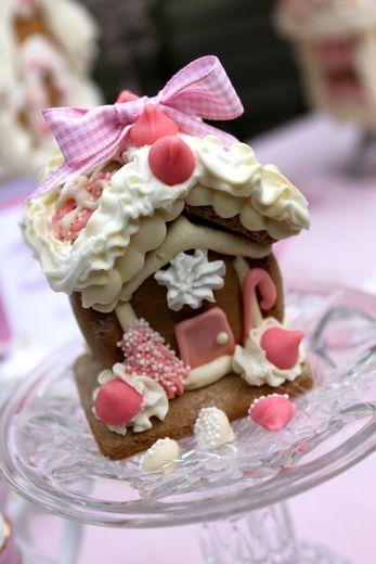 Gingerbread House Tea Party Christmas
