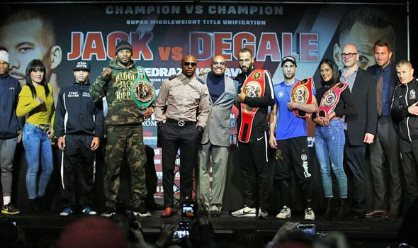 James DeGale v Badou Jack undercard: Fight times preview odds and more
