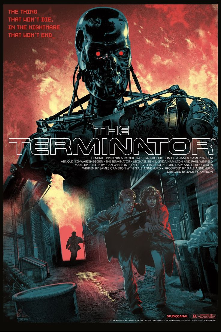 The Terminator by Stan & Vince for DaVinci's Dreams | Geek Art – Art, Design, Illustration & Pop Culture ! | Art, Design, Illustration & Pop Culture !