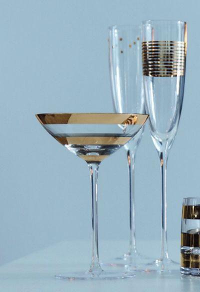 Garbo Cocktailglas en Champagneglas