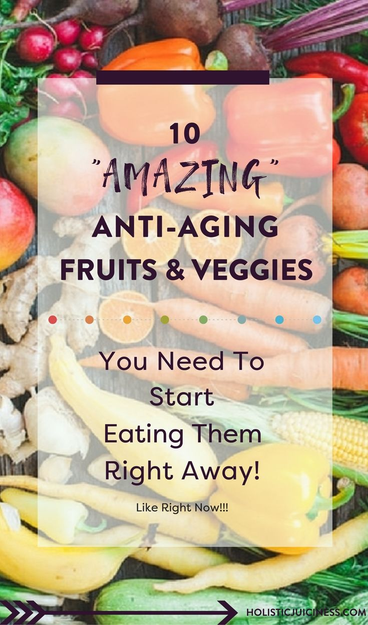Want your skin to look younger? The benefits of a healthy diet that includes these fruits and veggies will have people singing their praises!