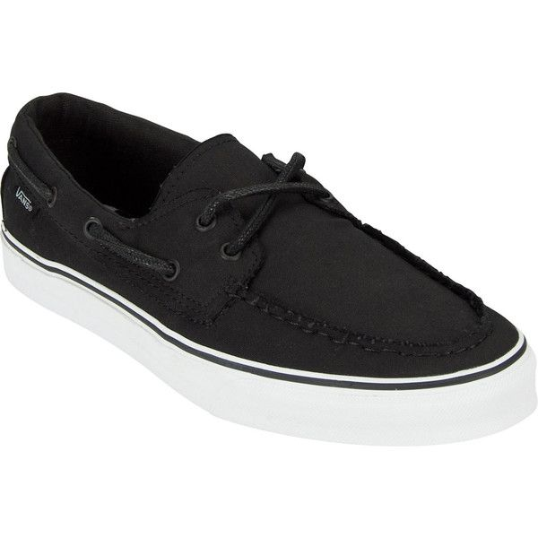 VANS Zapato Del Barco Mens Shoes (£35) ❤ liked on Polyvore featuring men's fashion, men's shoes, shoes, black, sneakers, men and mens shoes