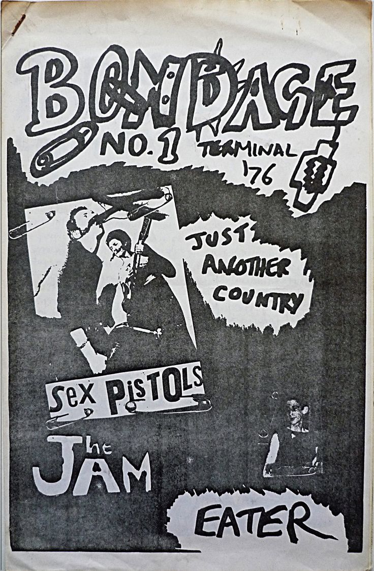 Oh So Pretty: Punk in Print 1976–80 New book collates 450 zines, posters, flyers, & badges from British Punk Subculture