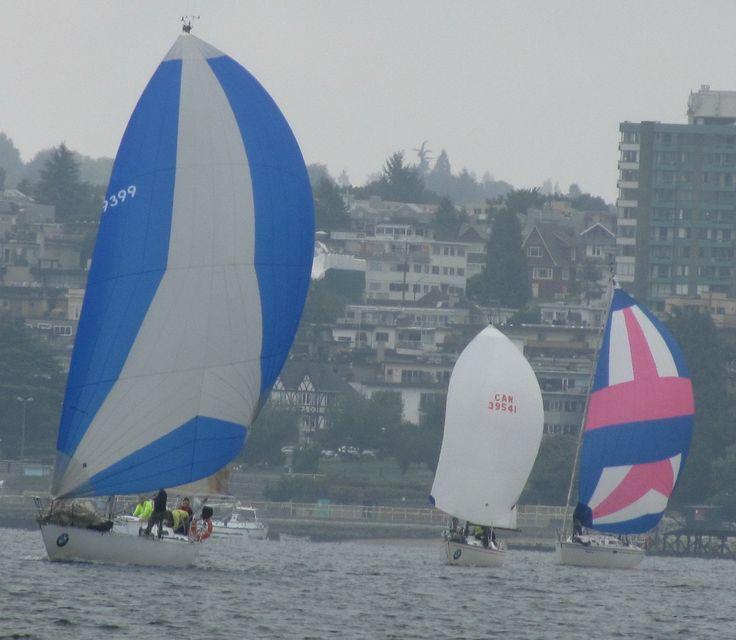 Sailing in Vancity
