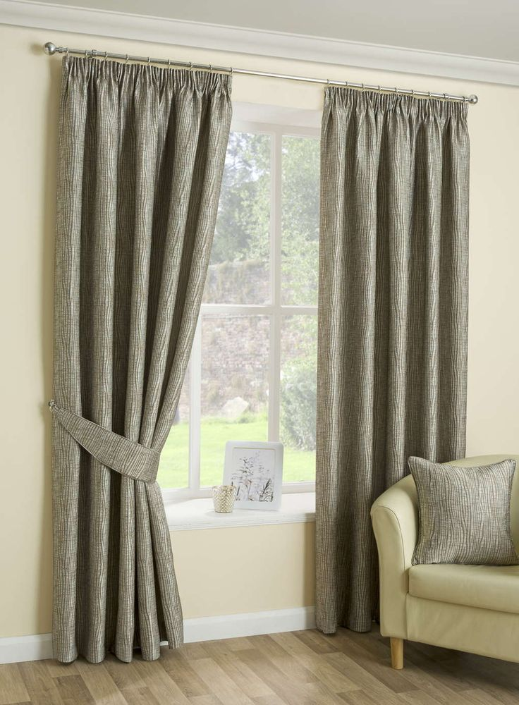 Ziggi Eyelet Curtains Mocha