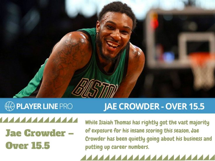 Want to know about football predictions and betting tips? Player line pro is the best place to be updated with football predictions, betting tips and line movements. Jae Crowder has been quietly going about his business and putting up career numbers.  #NBADailyPicks #NBADailyTips #LineMovement #PlayerLinePro #PlayerLine
