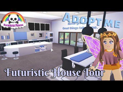 Adopt Me Aesthetic House Tour Futuristic House Youtube Futuristic Home House Tours Adoption