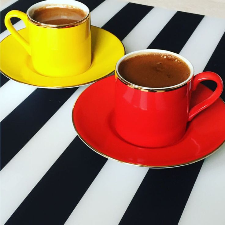 ❤️ coffee break!!! #worldsuniquedesigns #coffee #coffeebreak #coffeetime #kahverası #sarıkırmızı #loveit #türkkahvesi #turkishcoffee #coffeelover #likelikelike #coffeeholic #coffeeaddict #kahvekeyfi #kahvefincani #kahvesunumu #kahvesaati #blackandwhite #yellow #red #likepost #kahvebahane #kahvekokusu #kahveaşkı