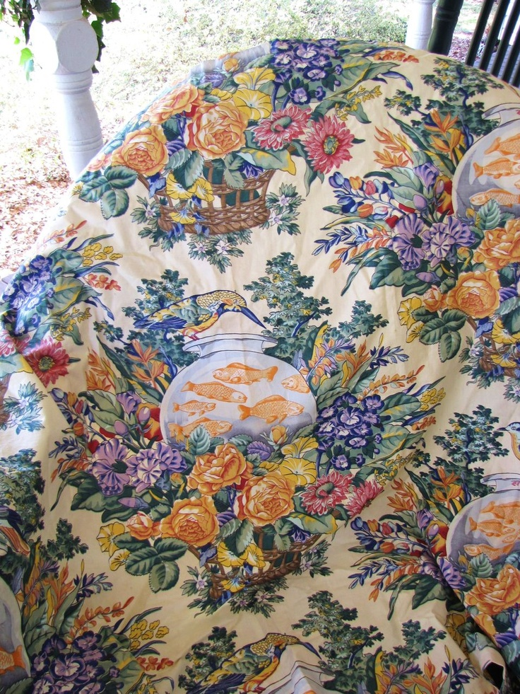 34 Best Images About Chintz Fabrics For Bedroom On