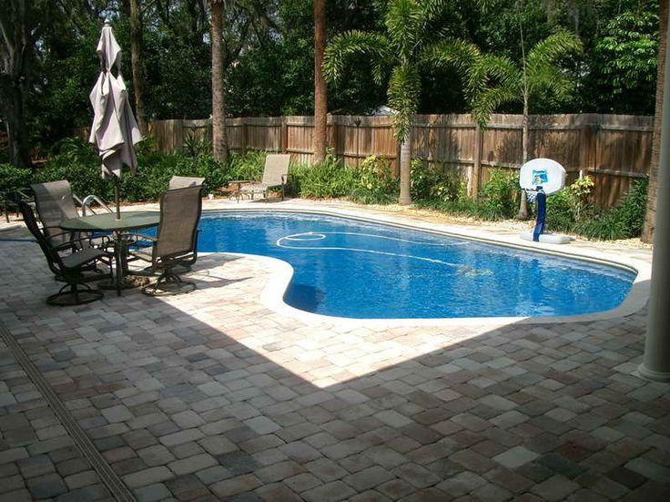 ingound swimmimg pool designs | Small Inground Swimming Pool: Small Inground Swimming Pool With The ...