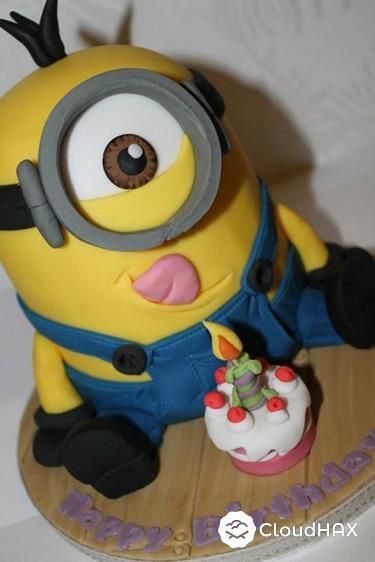 Delicious Despicable Me Minion Cakes