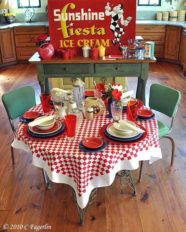 Retro Kitchen Diner: 17 Best Ideas About Vintage Diner On Pinterest