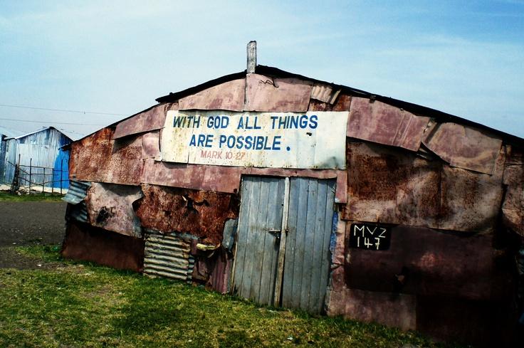 A church in the mukuru slums of kenya slums kenya church