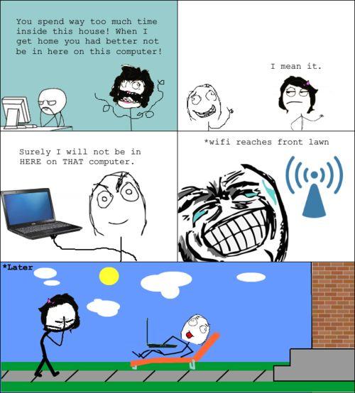 Meme Comic – Computer Loophole