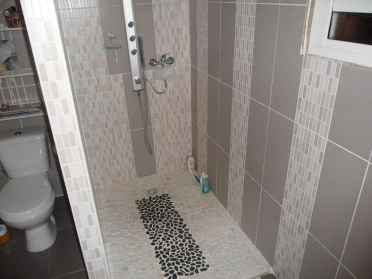 68 best Salle du0027eau images on Pinterest Bathroom, Design bathroom - mosaique rose salle de bain