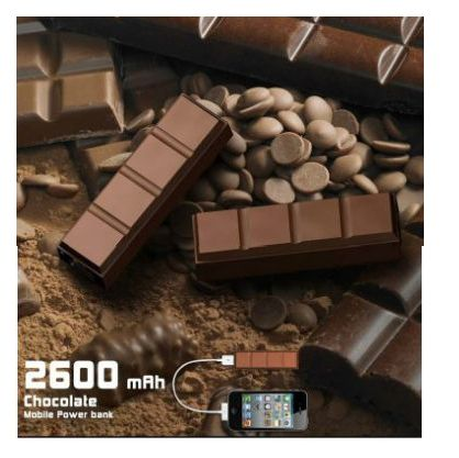 Chocolate Shape Mobile Charger