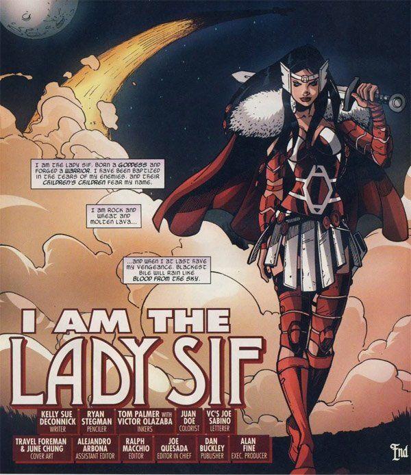 Lady Sif Gauntlets