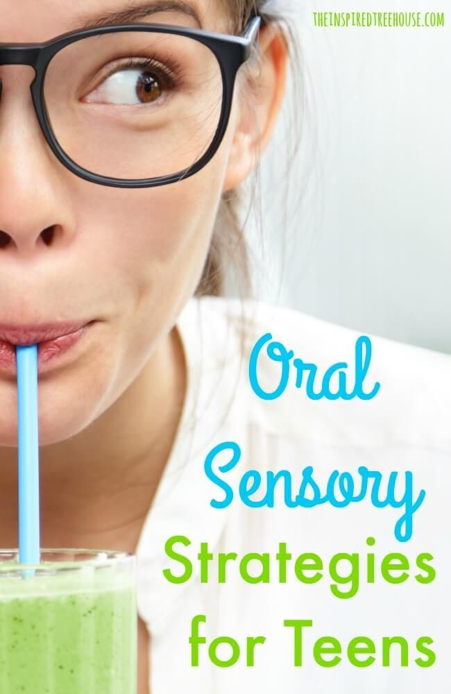 Olfactory and Oral Sensory Strategies for Teens
