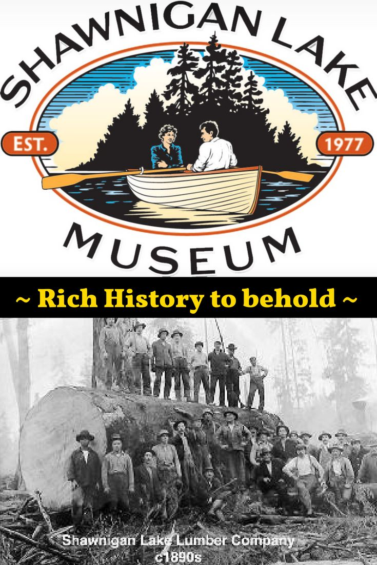 Shawnigan Lake Museum is one attraction you'll love to visit to find out about the Lake's rich history, nearby 2301 Ravenhill Family Home FOR SALE ~ ask Ivan Delano personal real estate corporation sutton group west coast realty for more 250-744-8506