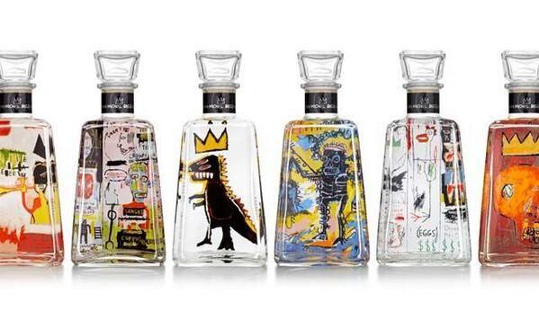 La 6ª edición de la serie Artistas de Tequila 1800 dedicada Jean-Michel Basquiat