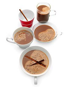 hot cocoa with almond milk