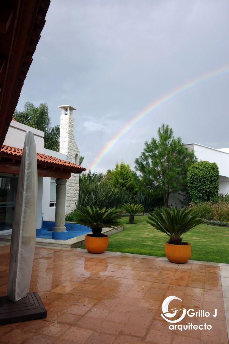 Arco iris, El Campanario, Querétaro