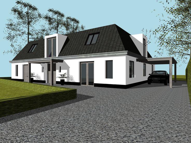 Ontwerp:Peter Rol -Studio72 ontwerp en bouwkunde Opdrachtgever :Particulier Locatie :Bergen NH  Nabij het centrum …