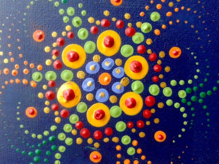 Caja de madera pintada a mano - Amanecer en el Océano