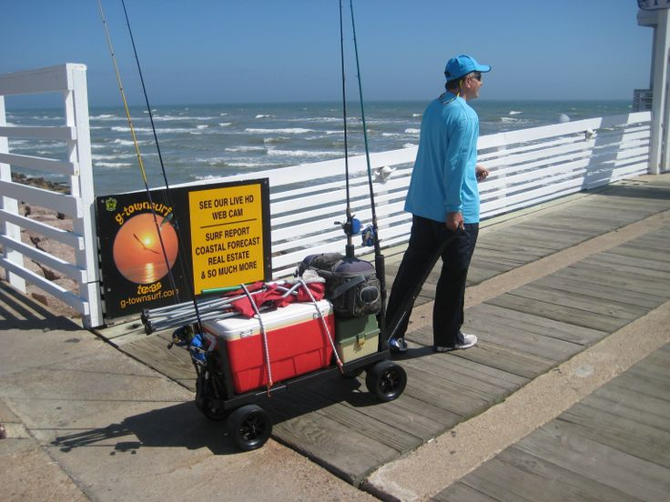 19 best images about randy on pinterest pvc pipes beach for Pier fishing cart