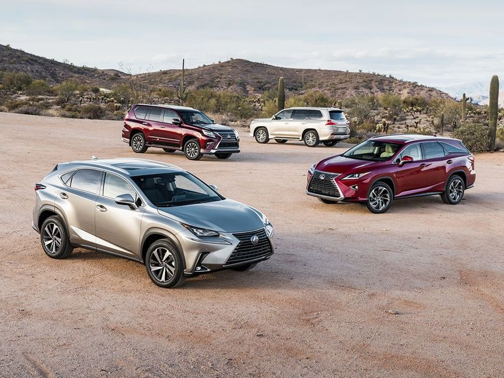 The 2019 Lexus Lineup Prices 2019 Lexus Lineup Exterior