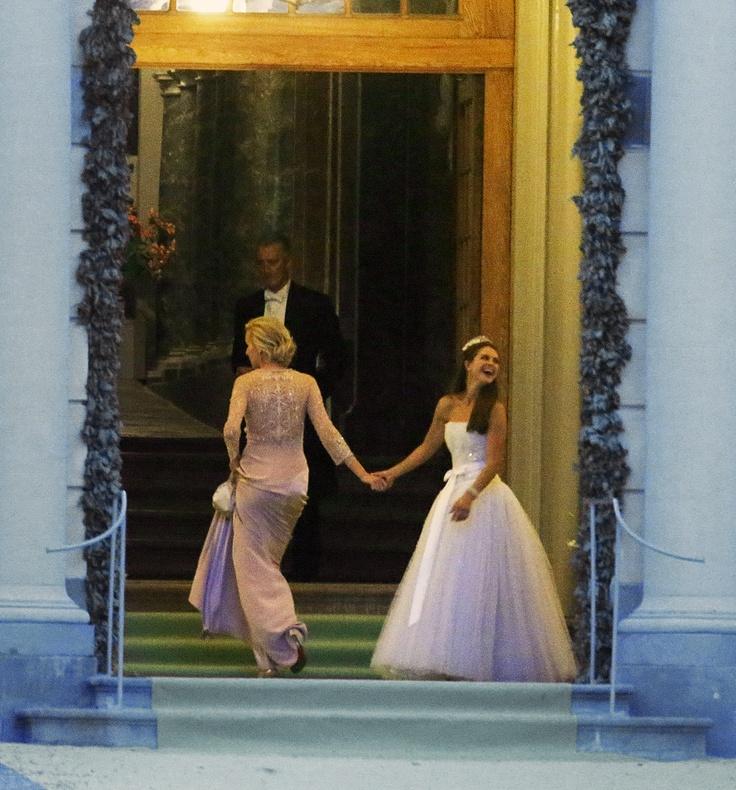 After Party Dress Princess Madeleine Of Swedens Wedding To British Businessman Chris ONeil 8 June 2013