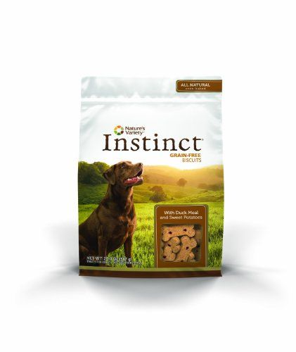 Nature's Variety Instinct Biscuits are formulated like your pet's ancestral diet – high protein grain-free and gluten-free. Each delicious oven-baked biscuit is made with pure and wholesome ingred...
