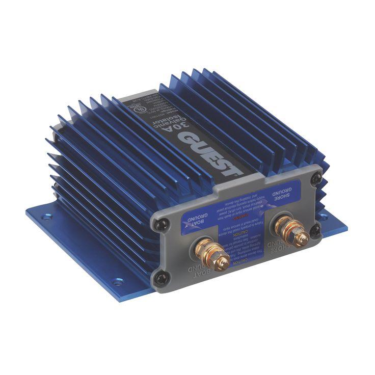 Guest 30A Fail Safe Galvanic Isolator - https://www.boatpartsforless.com/shop/guest-30a-fail-safe-galvanic-isolator/