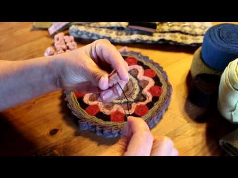 Stitching a Standing Wool Mat (part one)