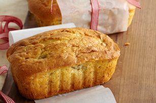 I made these mini loaves for Christmas gifts last year; and for a Christmas party this year. They are a HUGE hit- the secret? Pudding in the mix makes it melt-in-your-mouth delish!