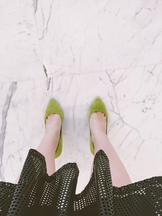 Vegan leather at the office? Yes please! #green #suede #marble #leatherdress #veganleather #pumps #officechic #ShopStyle #ssCollective #MyShopStyle #ootd #fallfashion #summerstyle #mylook #ShopStyleFestival #lookoftheday #currentlywearing #wearitloveit #getthelook #todaysdetails #canadianfashion #canadian