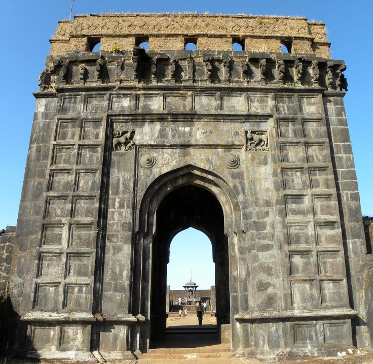 Raigad Fort, Mahad, Raigad district, Maharastra, India.
