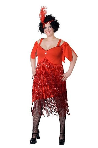 Sexy Plus Size Flapper Costumes - http://www.halloweendivas.com/sexy-plus-size-flapper-costumes/
