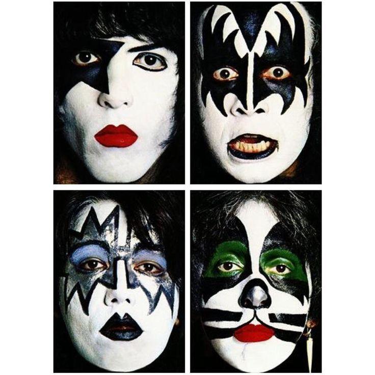 Kiss Band Makeup: 44 Best Kiss Images On Pinterest