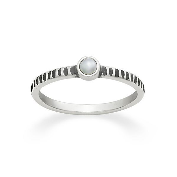 tiny cultured pearl ring jamesavery - James Avery Wedding Rings