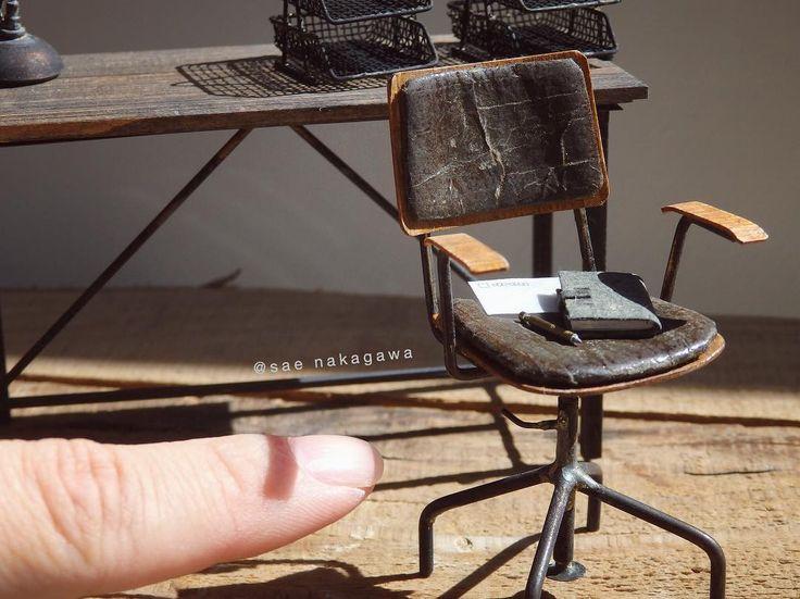 2017.08 Miniature Iron Chair ♡♡ By Sae Nakagawa