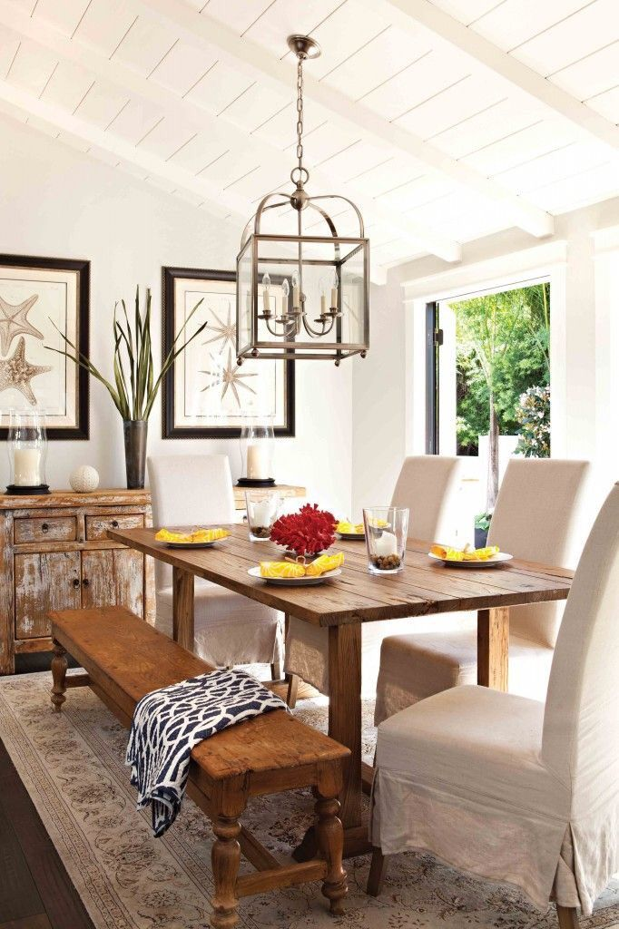 Love The Lantern, Bench, Ceiling, And Rug!