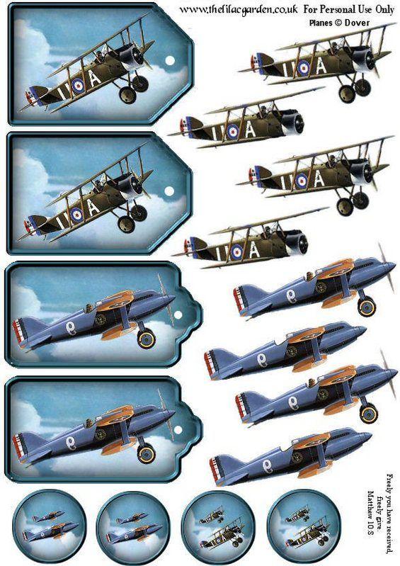 old plane 3d